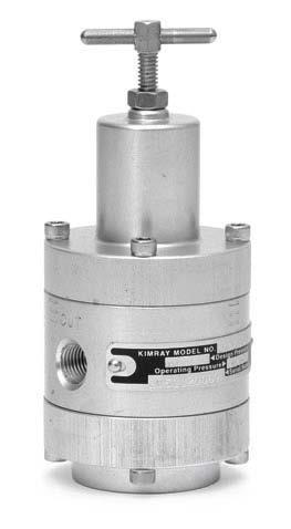 KIMRAY供气压力调节器Y0122更换(翻转)阀口垫操作步骤